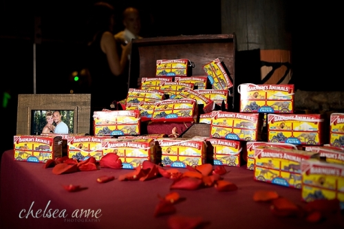 What a yummy treat! A perfect fit for their Wild Animal Park wedding and a great takeaway snack at the end of the night for all of their guests.
