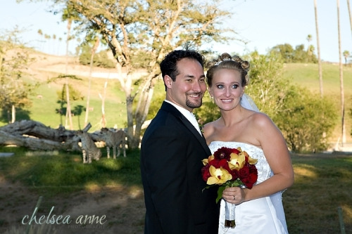 Will and Tiffany - happily married!