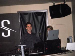 Master DJ, Tim Altbaum kept the house hoppin' way past closing time