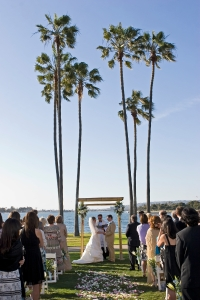 Ceremony at The Dana, Mission Bay