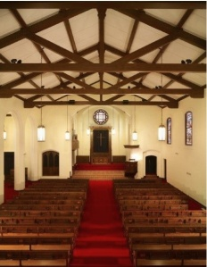 Lovely, understated and elegant, this nondenominational chapel will suit any ceremony