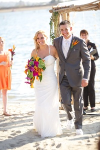 I pronounce you husband and wife!
