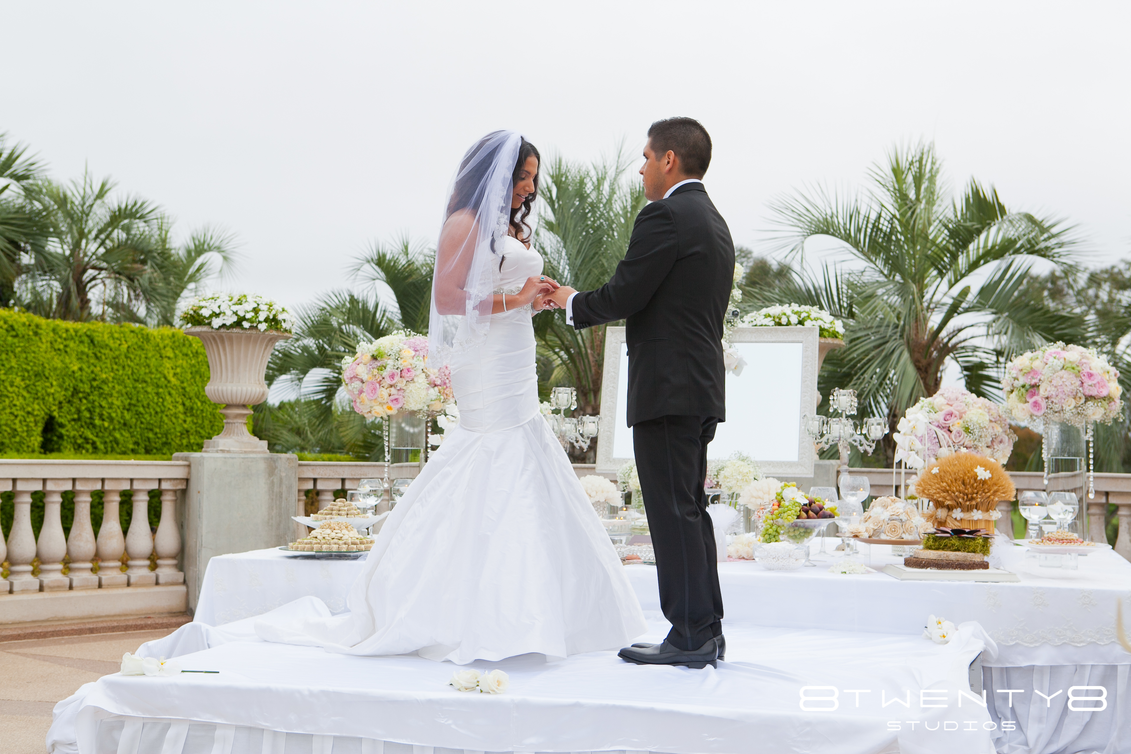 Themes just imagine weddings ceremonies blog the sofreh was beautifully adorned with symbolic items for the buycottarizona