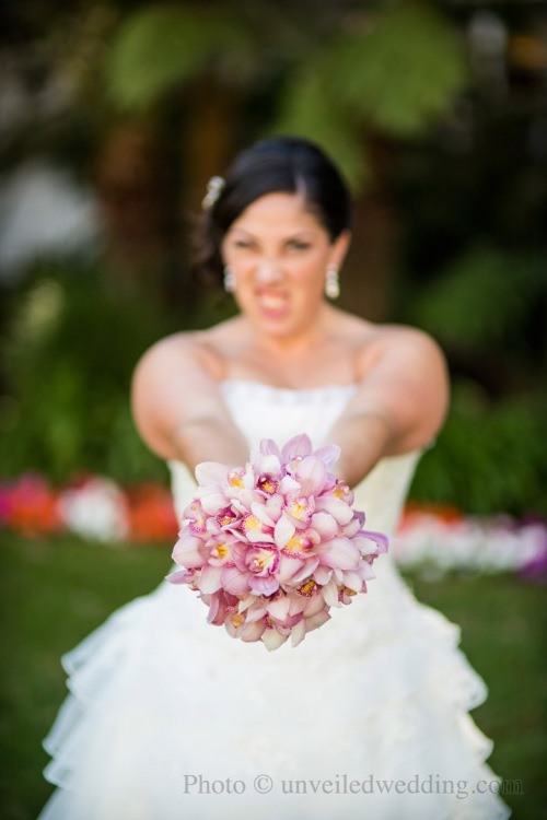 Sassy bride