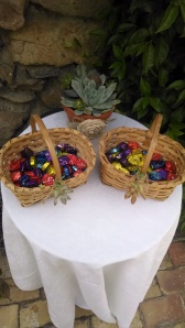 A delicious ceremony treat for wedding guests