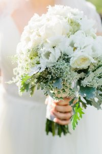Gorgeous bride's bouquet from Posy Peddler. Photo by Katie Jackson