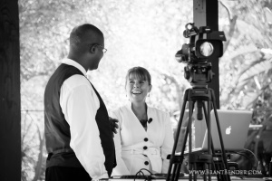 Loved working with one of my favorite DJs who handled ceremony music and setup, Jerry Beck!