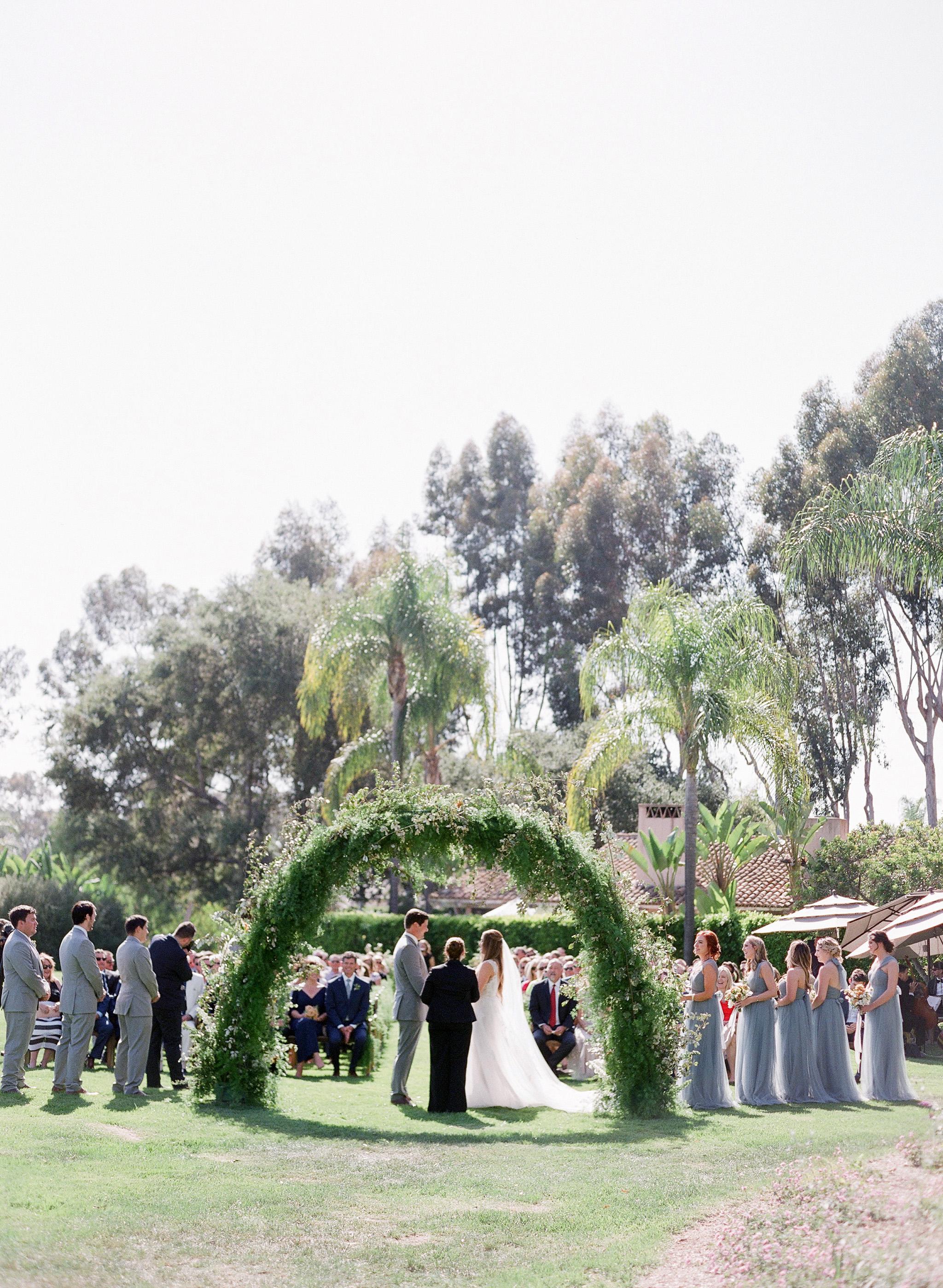 ceremony back view