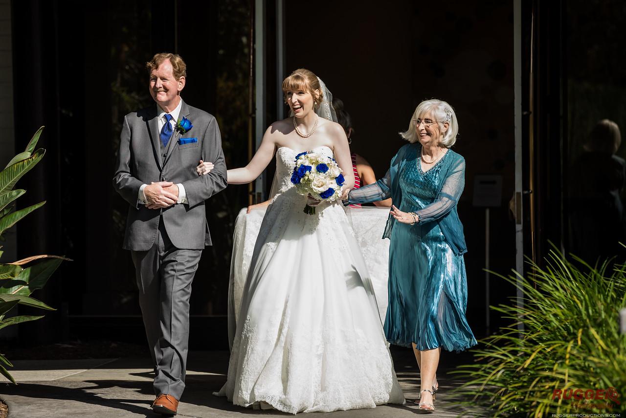 bride - parents - holly